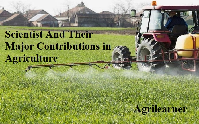 Scientist Contributions in Agriculture