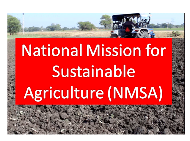 National Mission on Sustainable Agriculture
