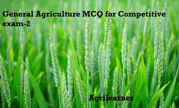 General Agriculture MCQ