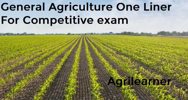 General Agriculture