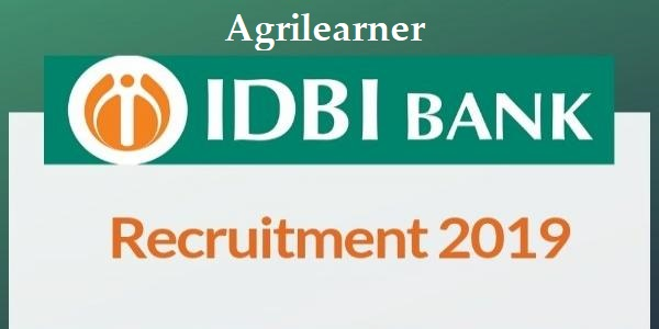 IDBI Bank Recruitment of Specialist Cadre Officers