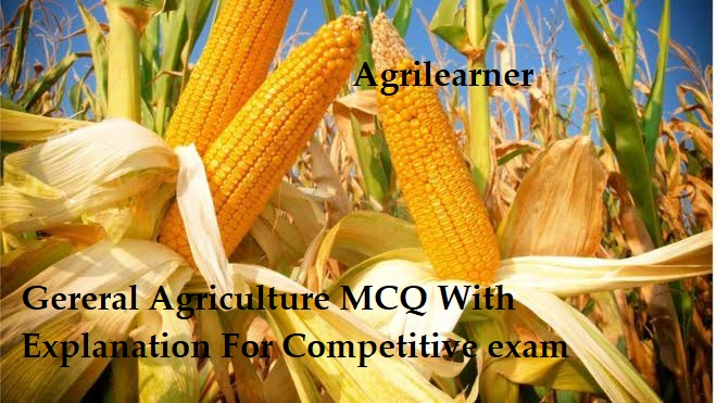 Gereral Agriculture MCQ