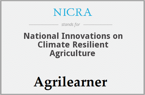 Climate Resilient Agriculture