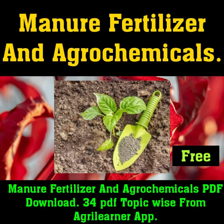 MANURES FERTILIZERS