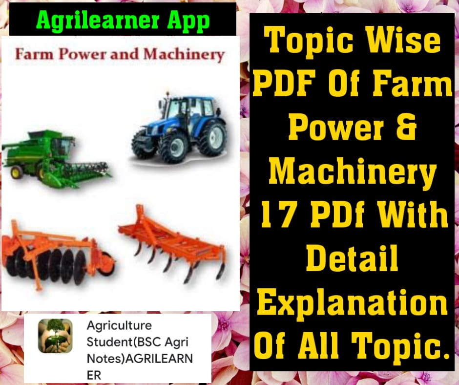 (FARM POWER MACHINERY)