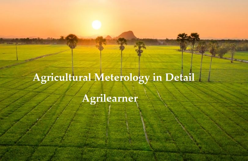 Agricultural Meterology