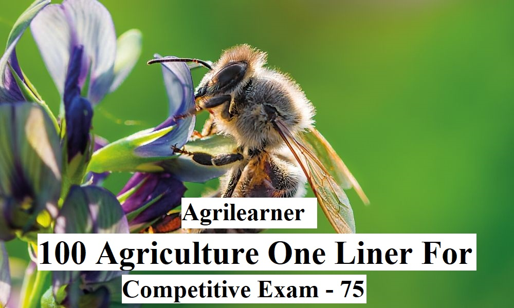 Agriculture Oneliner